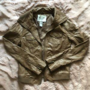 American Rag Faux Leather Jacket NWOT